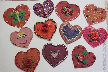 Эти Валентинки мои воспитанники сделали для конкурса Парад Валентинок. фото 1