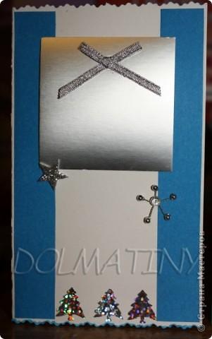 делала НГ открытки для коллег и родственников! фото 3