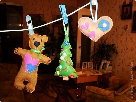 Остальные игрушки из фетра фото 2