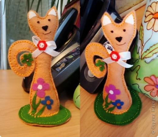 Остальные игрушки из фетра фото 3