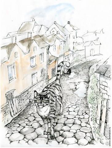 Эта работа выполнена на заказ по просьбе художника анималиста НАТАЛЬИ УСОВОЙ.По её эскизам,но в декоративной технике.  фото 15