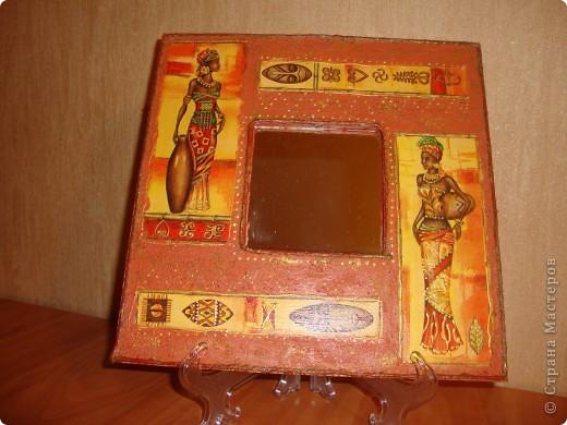 """Зеркало """"Африка"""". фото 1"""