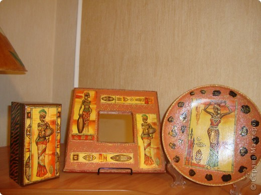 """Зеркало """"Африка"""". фото 2"""