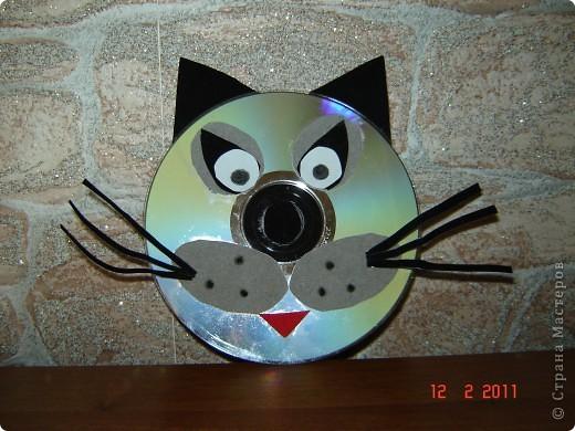Поделки из дисков компьютерных своими руками фото