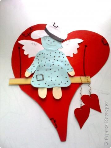 Валентинка ангелочек фото 4