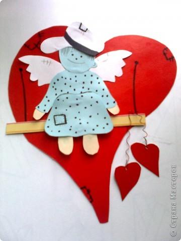 Валентинка ангелочек фото 1