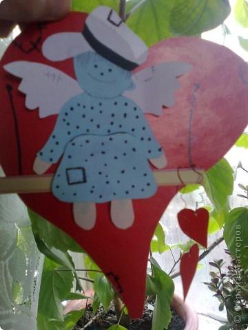 Валентинка ангелочек фото 3