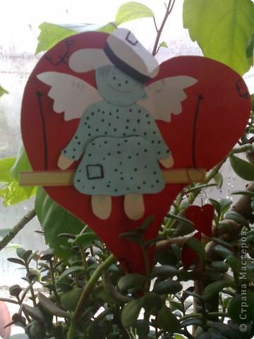 Валентинка ангелочек фото 2