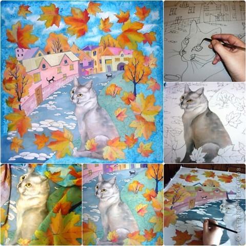 Эта работа выполнена на заказ по просьбе художника анималиста НАТАЛЬИ УСОВОЙ.По её эскизам,но в декоративной технике.  фото 1