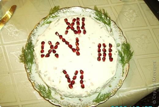 """Вот такие салатики я делала в Новый год!  Салат """"Ананас"""" фото 2"""