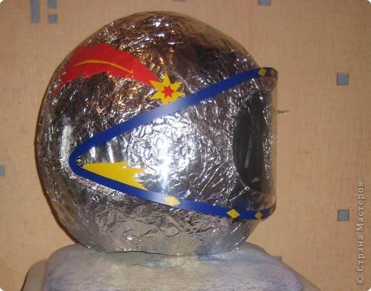 Шлем из бумаги мастер класс как сделать #9