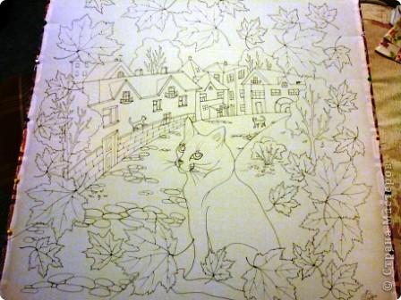 Эта работа выполнена на заказ по просьбе художника анималиста НАТАЛЬИ УСОВОЙ.По её эскизам,но в декоративной технике.  фото 3