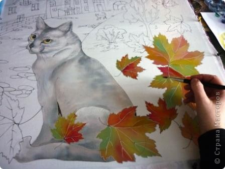 Эта работа выполнена на заказ по просьбе художника анималиста НАТАЛЬИ УСОВОЙ.По её эскизам,но в декоративной технике.  фото 7