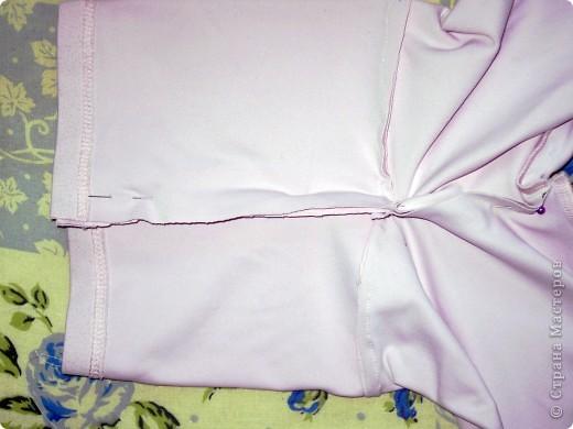 Штанишки из футболки фото 8