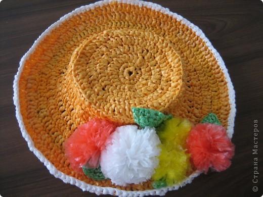Спасибо Стране мастеров! Мы добавили к тапочкам шляпку. фото 2