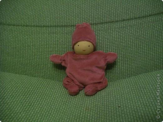 Вальдорфская кукла - бабочка фото 1