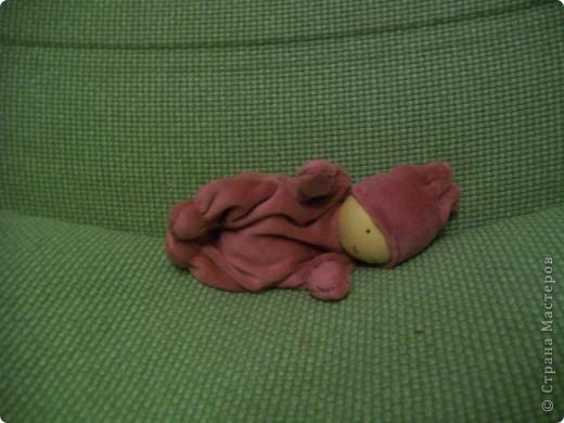 Вальдорфская кукла - бабочка фото 2
