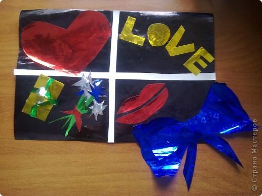 Это открытка сделана Бахтиной Кариной для мамы! фото 1