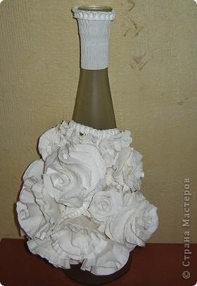 Розы из бумаги от свадебного букета фото 2