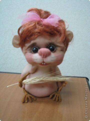 Вот такая игрушка получилась у меня. Спасибо Pawy за мастер класс