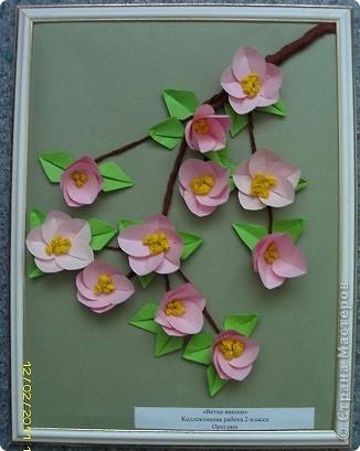маки. Попробовала сделать цветы из гофрированной бумаги фото 3