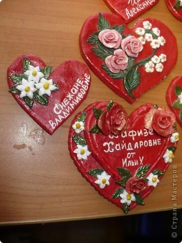Для сына, в школу сделала вот такие, валентинки фото 5