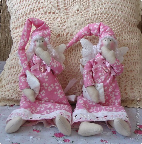 Вот такие двойняшки для двух маленьких девочек, совсем даже не двойняшек, и даже не родственниц. ростик 28см. фото 2