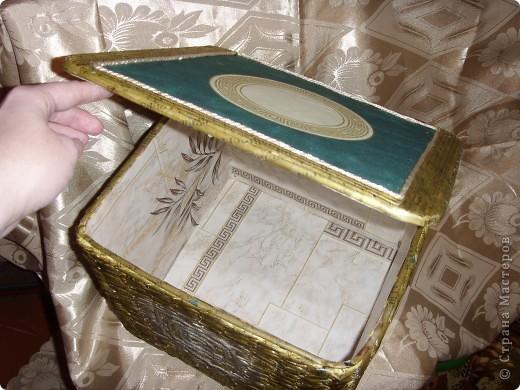 Короб для рукоделия фото 2