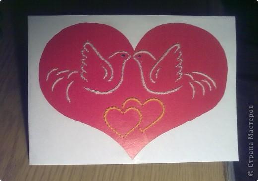Вот и моя Валентинка :) Спасибо Галине К за идею: http://stranamasterov.ru/node/50740 фото 1
