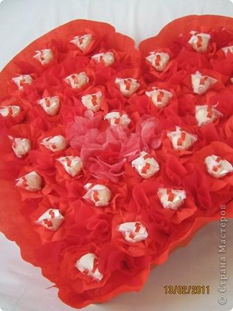 """Вот такая сладкая """"валентинка"""" у меня получилась. фото 2"""