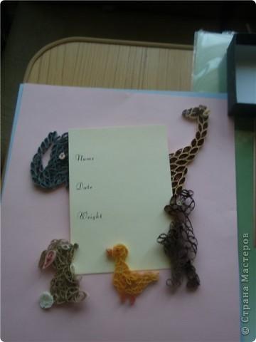 открытка для новорожденного фото 1