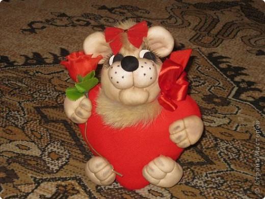 Вот такую валентинку я сшила в подарок мужу благодаря МК Copilki.,за что огромнейшее спасибо! фото 2