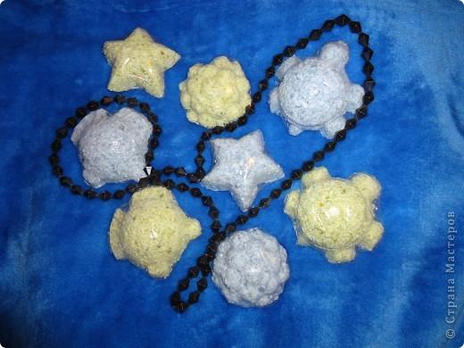 голубые - лаванда с ароматом корицы зелёные - жасмин с ароматом ванили
