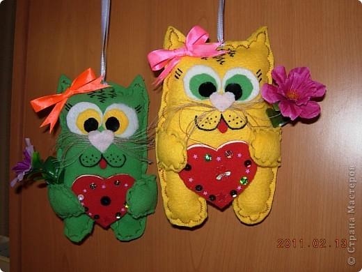 Наши мягкие валентинки-повторюшки фото 1
