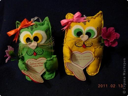 Наши мягкие валентинки-повторюшки фото 2