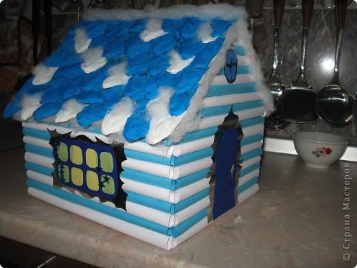 Поделка выполнена с ребенком 3-го класса для школьной выставки.  фото 1