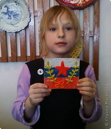 Пластилиновые открытки к празднику фото 5