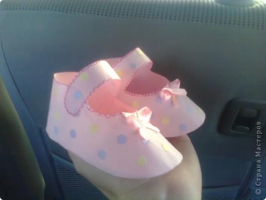 Видела такие сандалики в исполнении других мастериц - очень понравилилсь фото 2