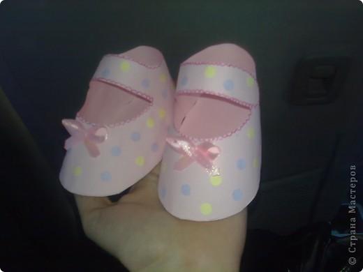 Видела такие сандалики в исполнении других мастериц - очень понравилилсь фото 4