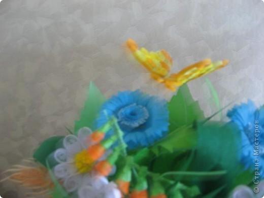 Букет полевых цветов фото 2