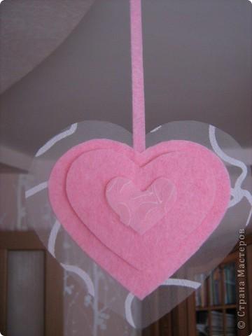 Посетило вдохновение и... вот такое сердечко получилось за 10-15 минут.  Хочу украсить комнату своей доченьки множеством таких (или подобных) сердечек. Она их обожает. :)) фото 7