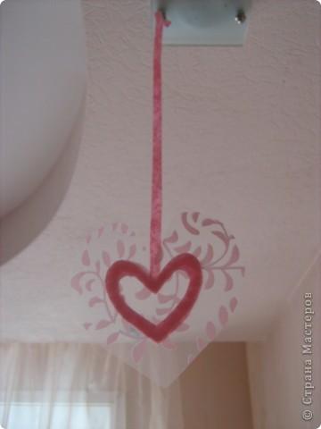 Посетило вдохновение и... вот такое сердечко получилось за 10-15 минут.  Хочу украсить комнату своей доченьки множеством таких (или подобных) сердечек. Она их обожает. :)) фото 8