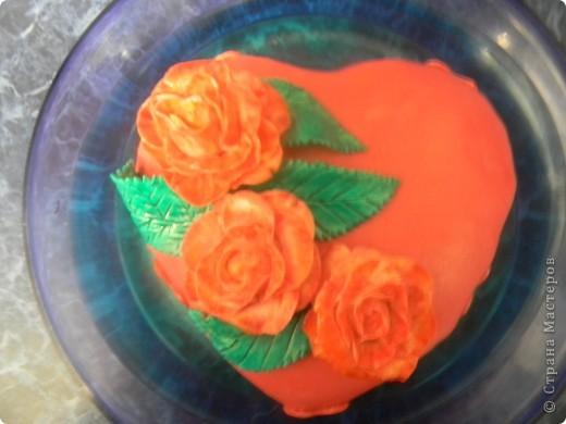 Торт Валентинка фото 1