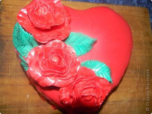 Торт Валентинка фото 3