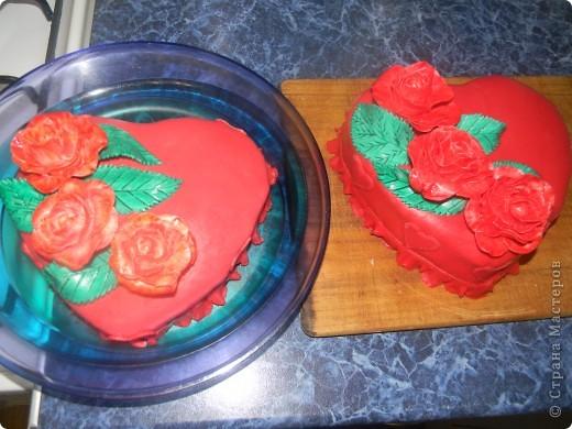 Торт Валентинка фото 5