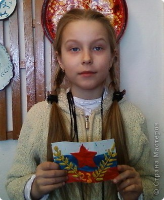 Пластилиновые открытки к празднику фото 2