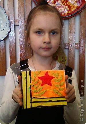 Пластилиновые открытки к празднику фото 4