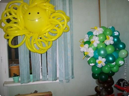 Вот так в одной квартире осенью, на День рождения у одной маленькой девочки, создаем лето... фото 1