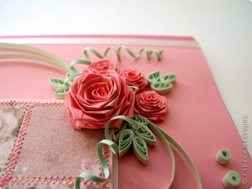 Открытка по скетчу ко Дню Св. Валентина фото 2