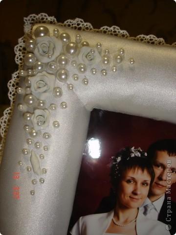 Рамка в подарок на День Святого Валентина и в общий тон прошедшей свадьбы фото 3